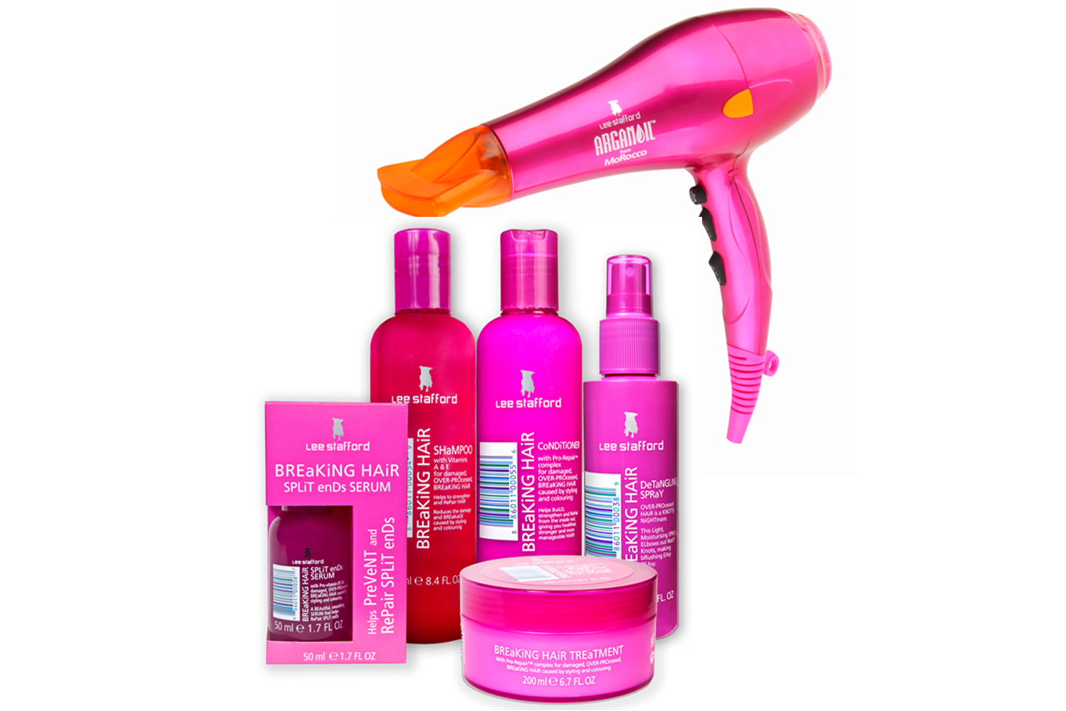 Friday Treat Competition Win A Lee Stafford Hairdryer And Breaking Hair Range