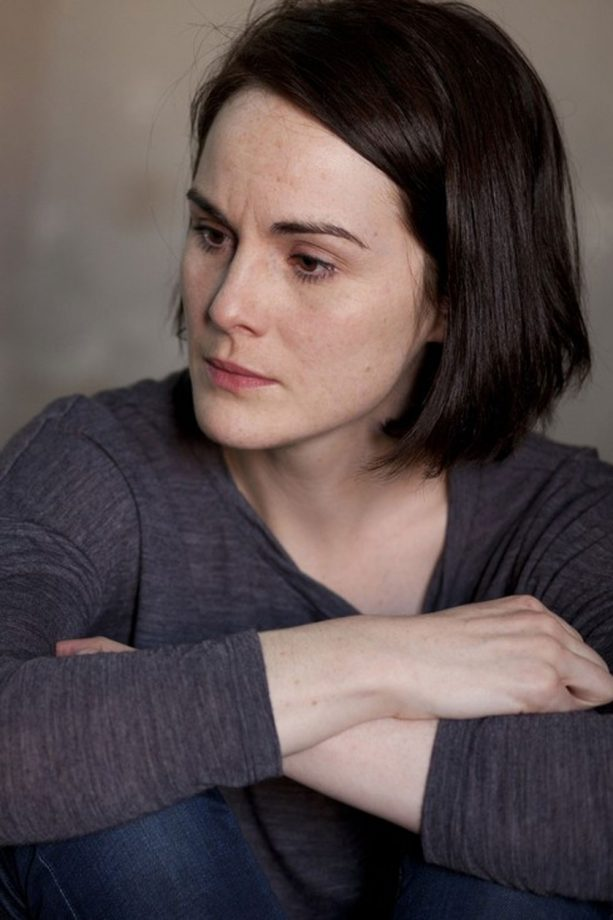 Michelle Dockery meets those affected by the conflict in Syria