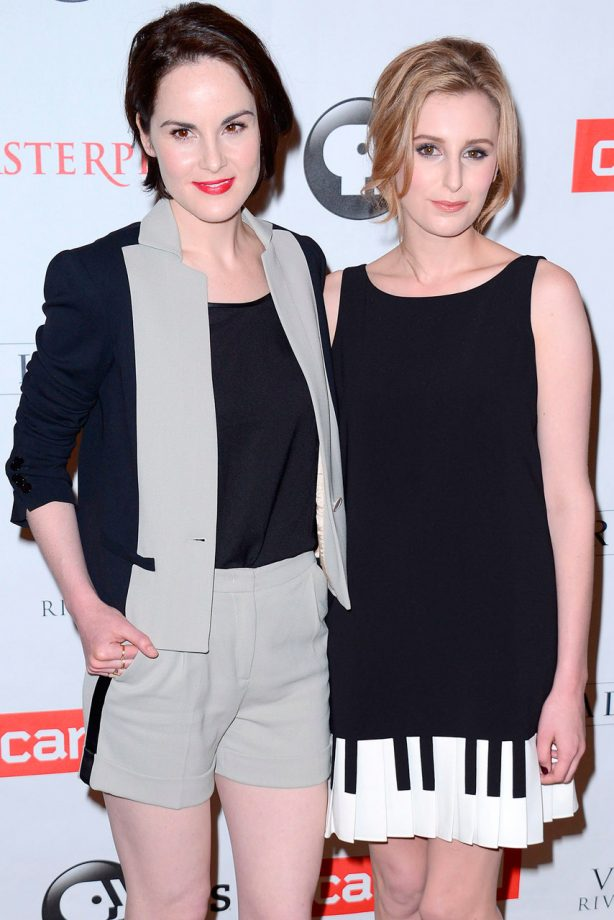 The Downton Abbey cast on the red carpet in LA