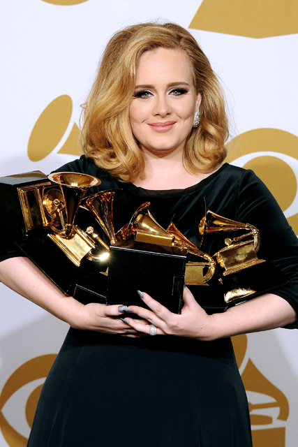 Adele to star in Glee?