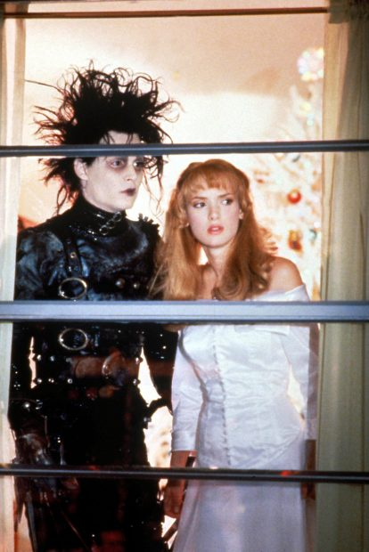 Iconic Movie Couples Edward Scissorhands