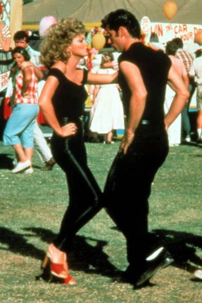 Iconic Movie Couples Grease