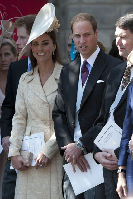 Prince William Kate Middleton - Prince William - Kate Middleton - The Duke & Duchess of Cambridge - The Duke of Cambridge - The Duchess of Cambridge - Zara Phillips & Mike Tindall's wedding - Marie Claire - Marie Claire UK