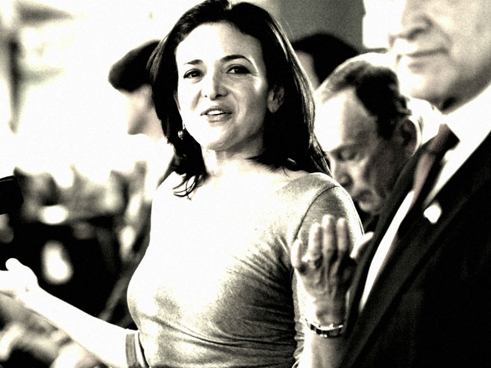 Sheryl Sandberg's Facebook Fortune Earns Her A Place In The