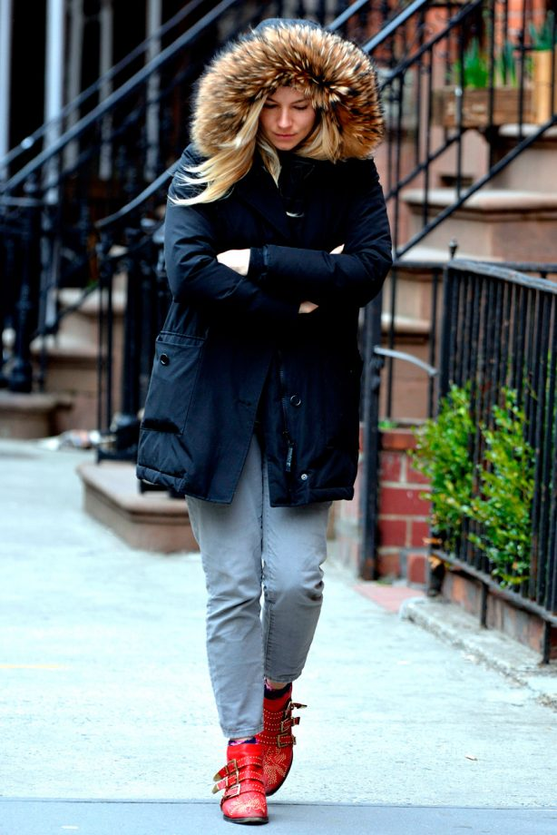 Sienna Miller does off-duty style in New York