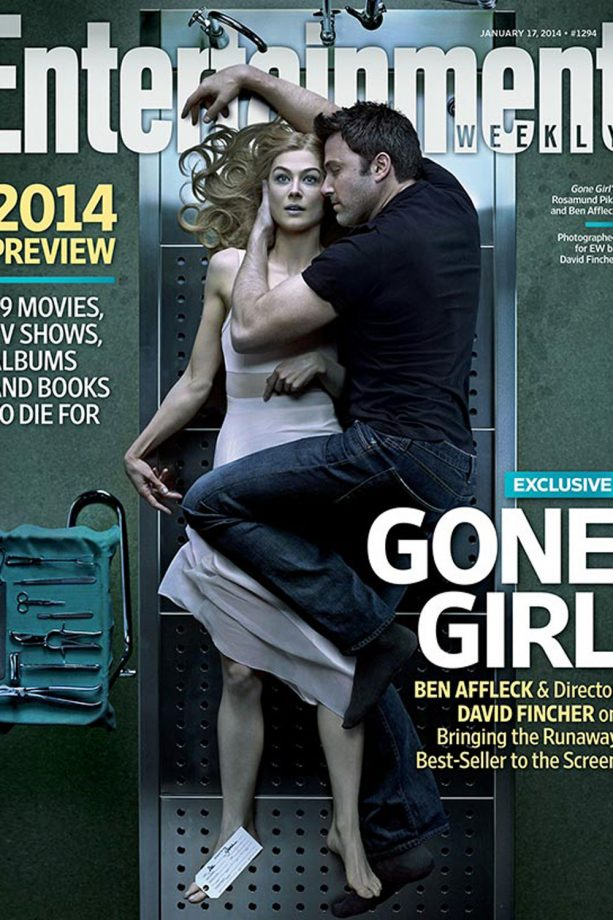 Ben Affleck and Rosamund Pike for Entertainement Weekly