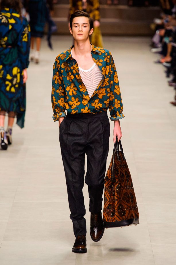 Burberry Prorsum Aw14 London Fashion Week