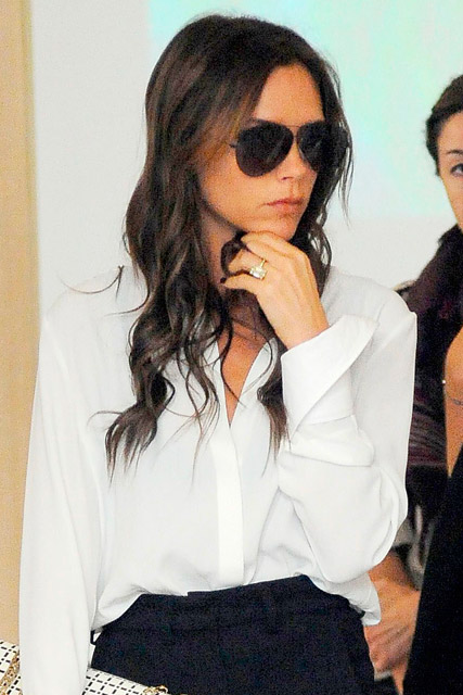 Victoria Beckham hits the shops after successful New York ...