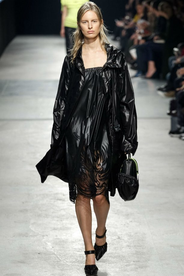 London Fashion Week trends: Black is the new colour of the season.