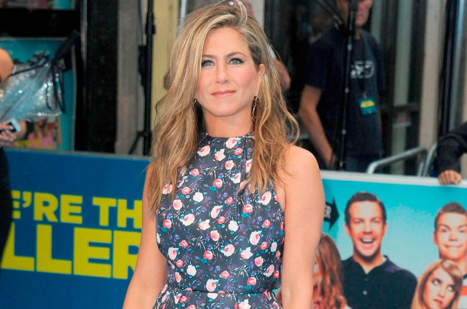 Jennifer Aniston on the red carpet in London