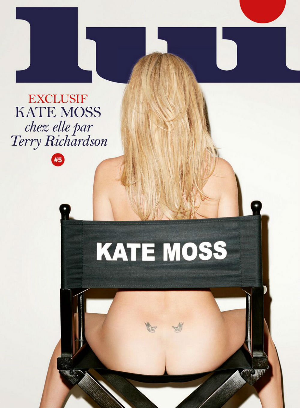 Kate Moss Strips Down For Cheeky Magazine Cover