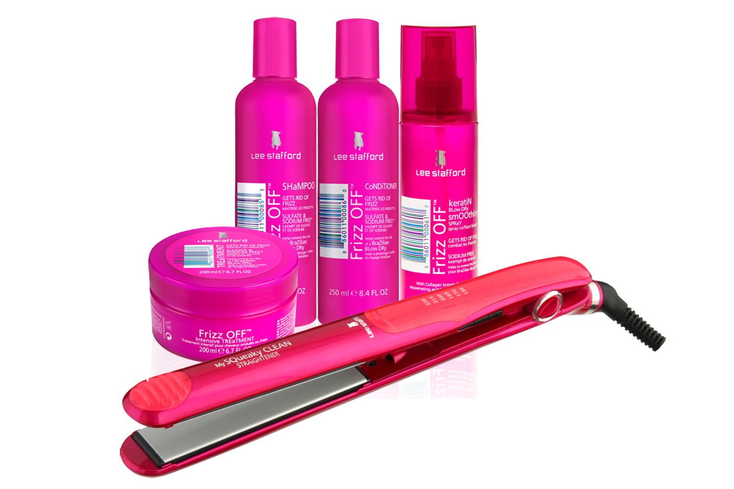 Friday Treat Competition Win Lee Stafford Frizz Off Hair Sets
