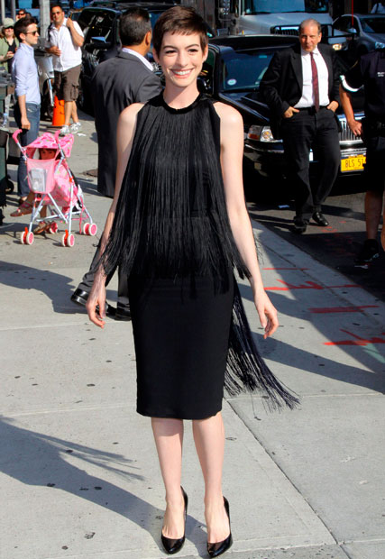 Anne Hathaway is rumoured to be pregnant with her first child