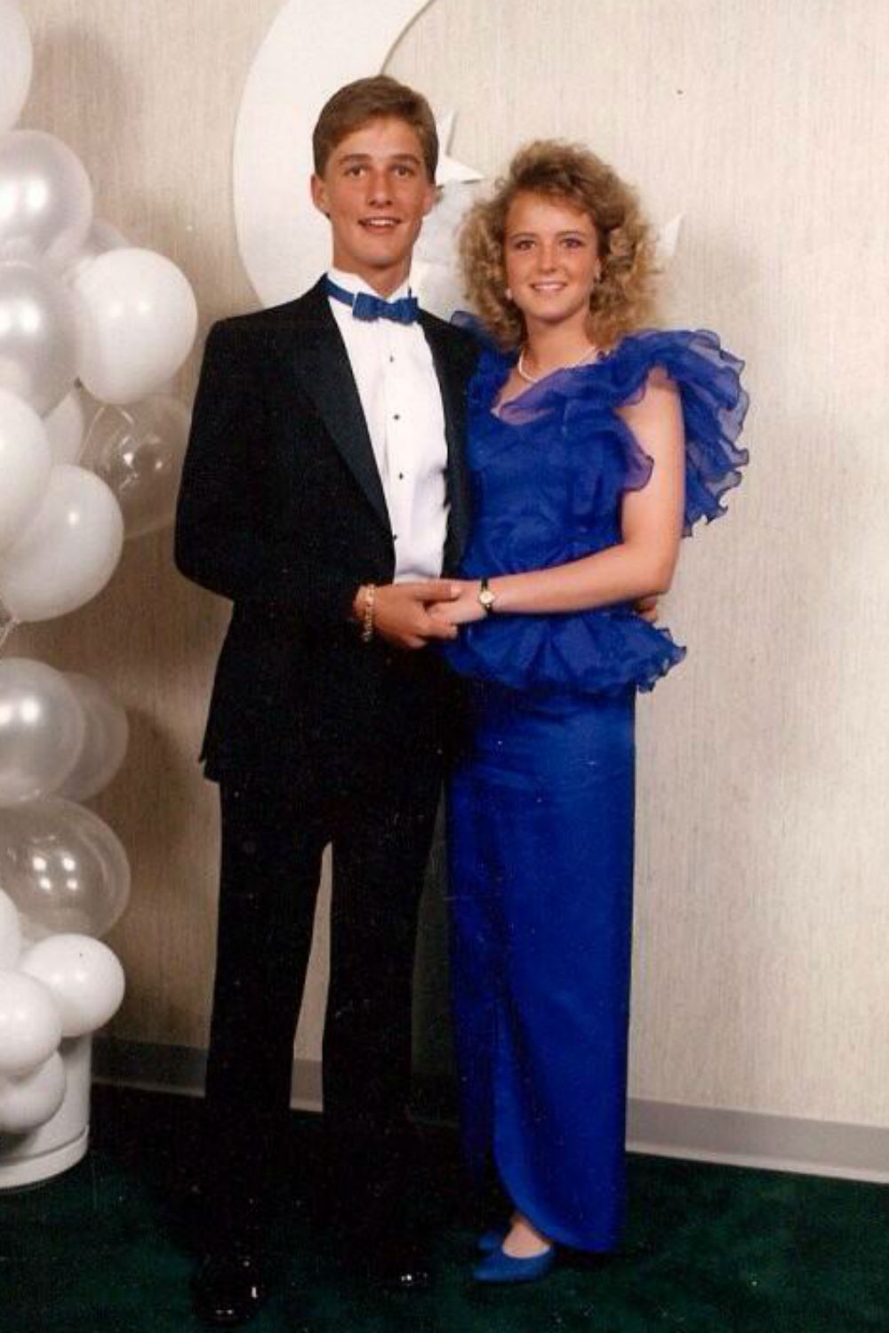 Matthew Mcconaughey S Prom Picture Proves He Was Just As