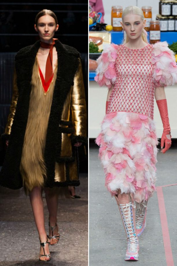 Manuela Frey and Nastya Sten walked in the most Fashion Week shows