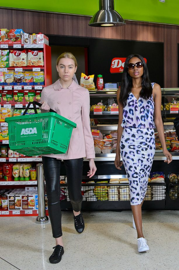 George at Asda recreates Chanel's supermarket