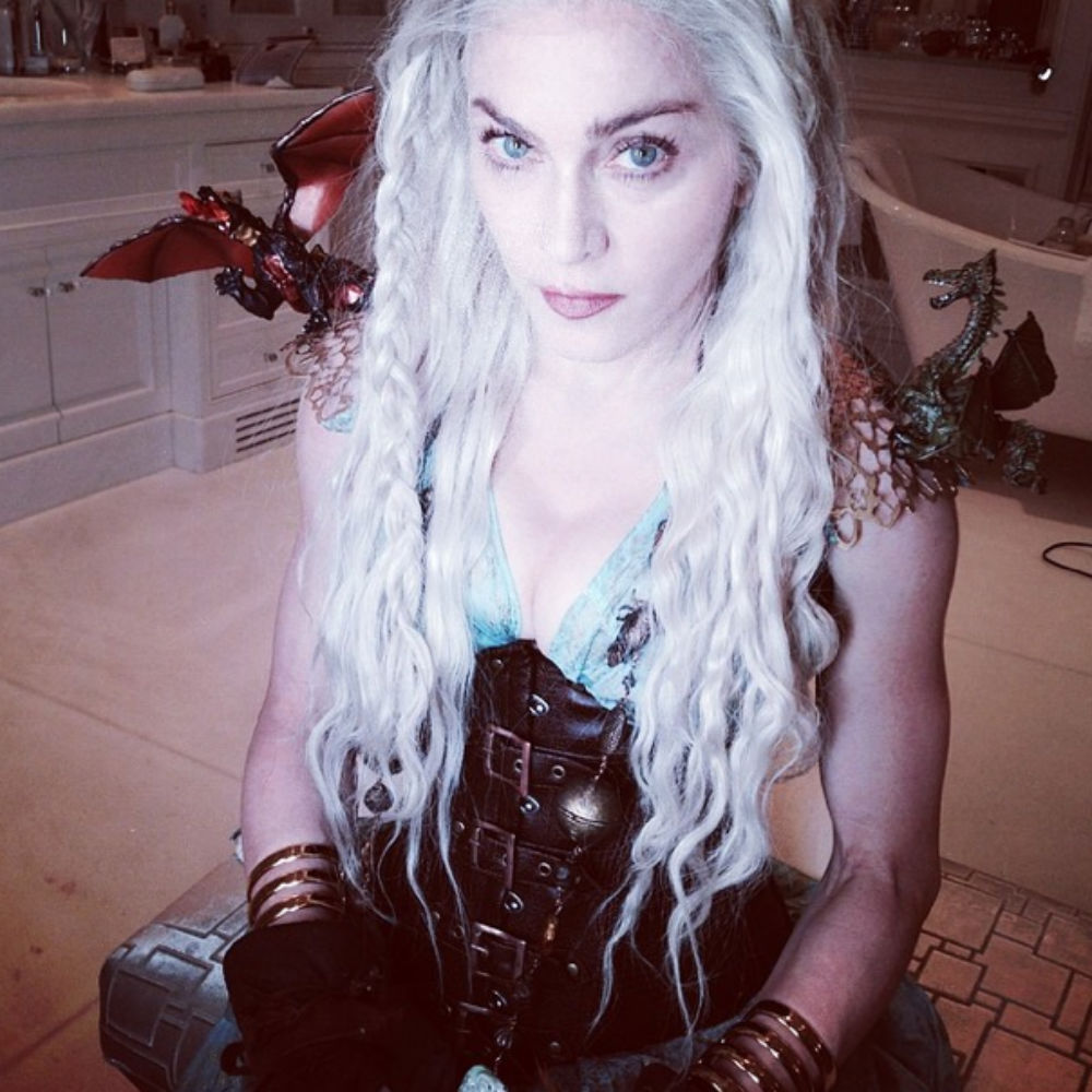 So That's Why Madonna's Game Of Thrones Costume Looked So Real