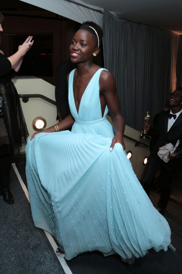 Lupita Nyong'o At The Oscars After Parties