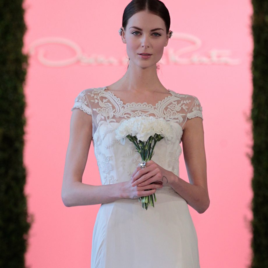 Oscar de la Renta Bridal Spring 2015 Collection