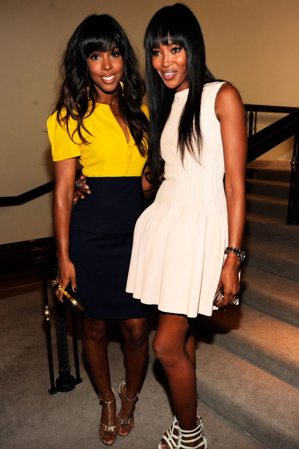 Kelly Rowland and Naomi Campbell turn out for the Essence Black ...