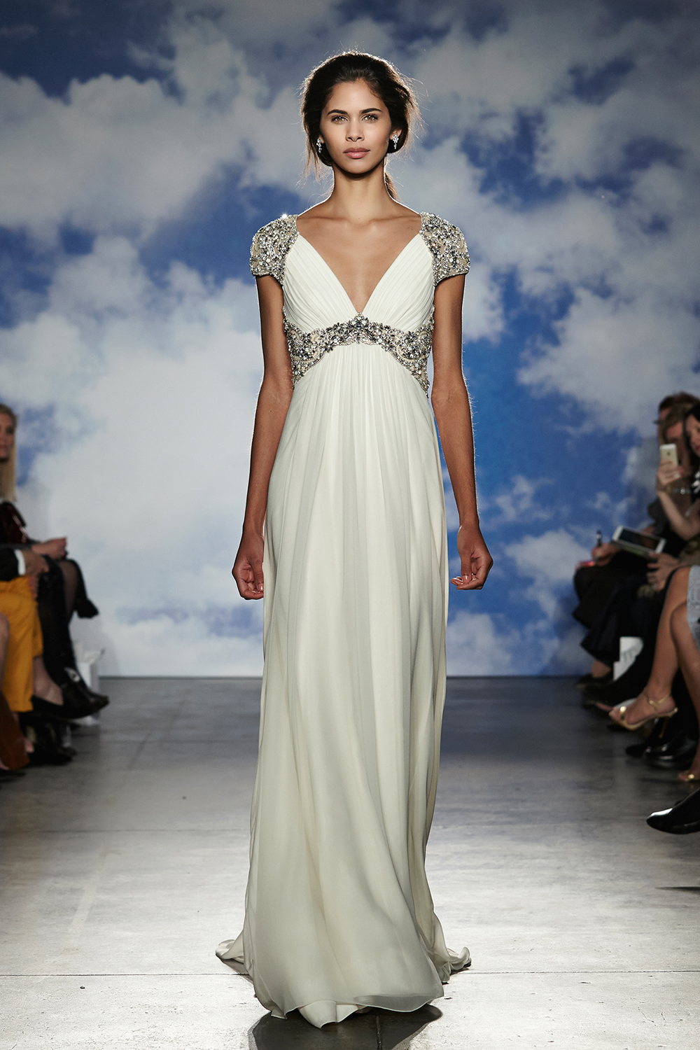 Jenny packham bridal spring 2015 collection junglespirit Image collections
