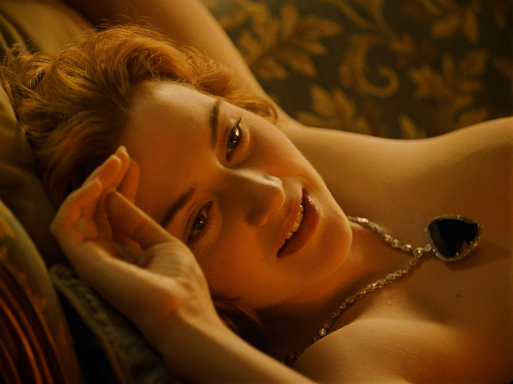 Kate winslet titanic nude video