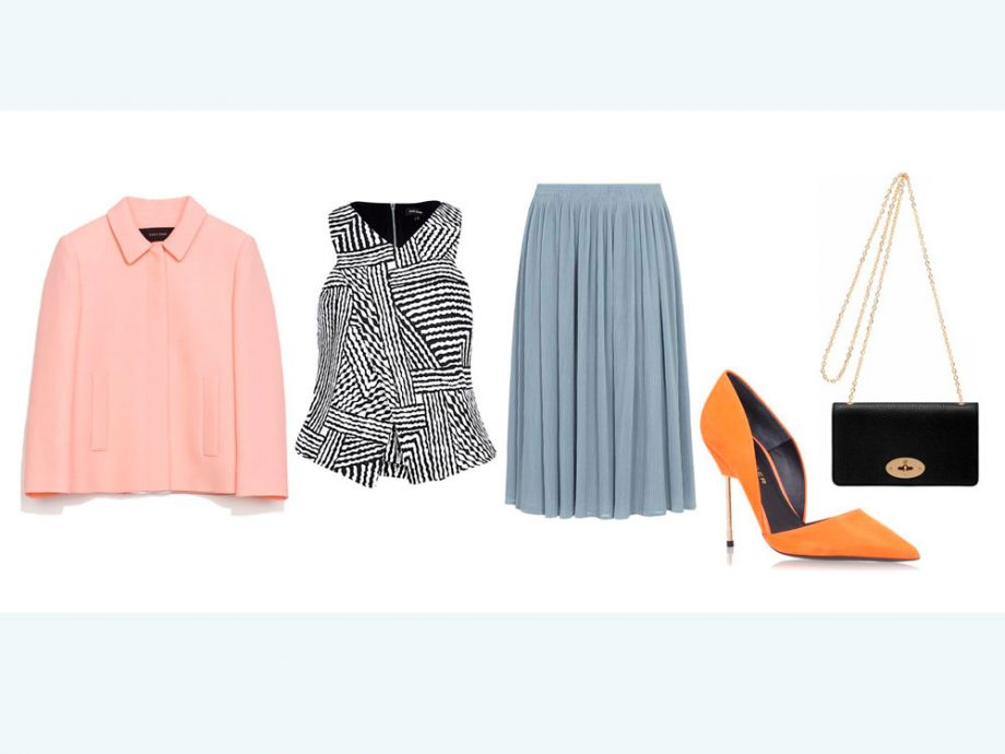 Church wedding guest outfit