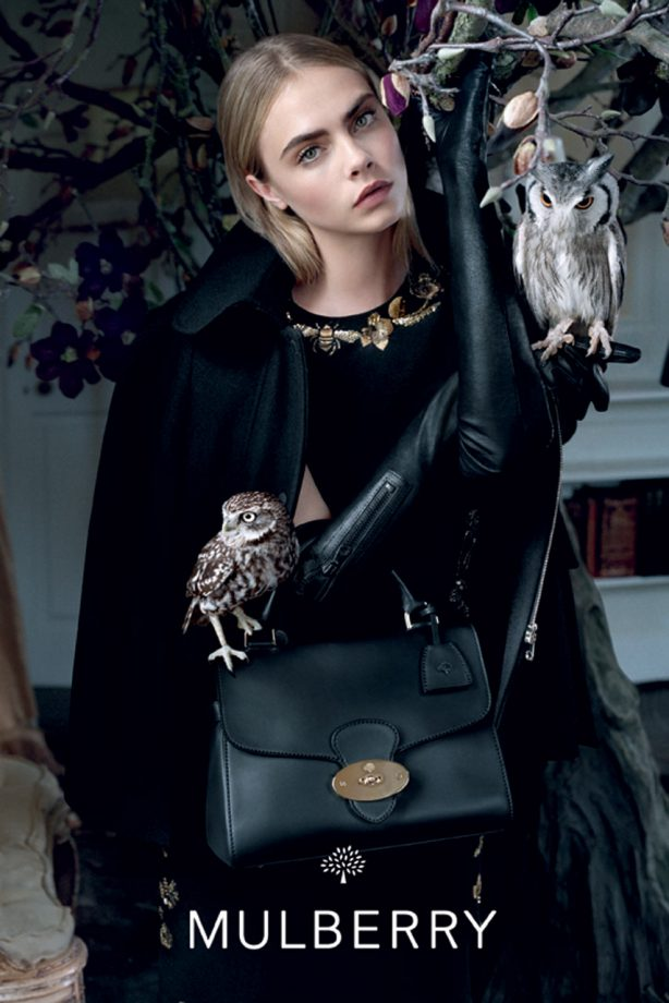 28c9b1f215d3 Cara Delevingne stars in Mulberry s autumn winter 2013 campaign