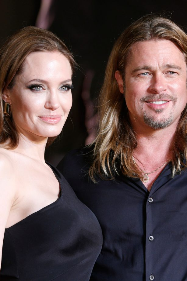 Angelina Jolie and Brad Pitt on the red carpet in Tokyo