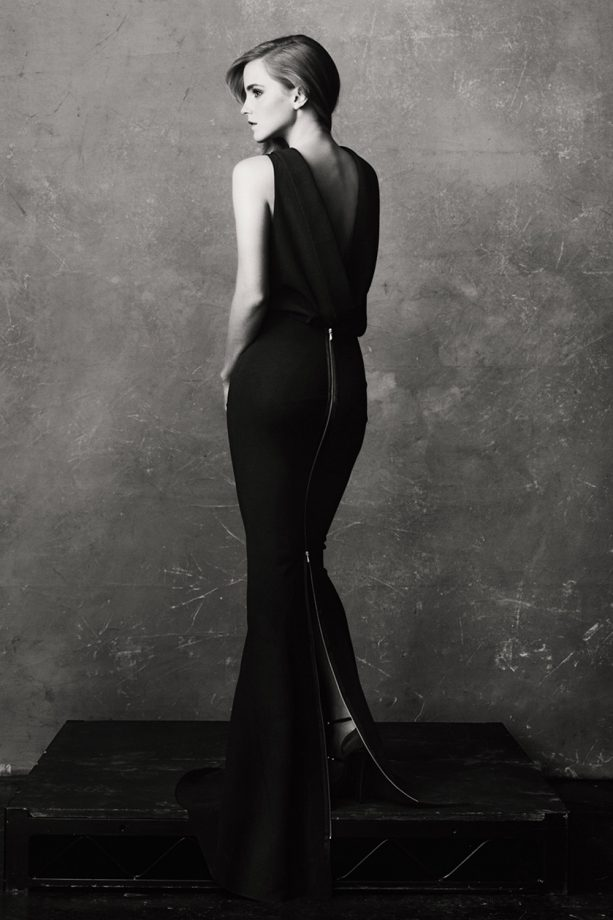 Emma Watson models for Net-a-Porter's THE EDIT