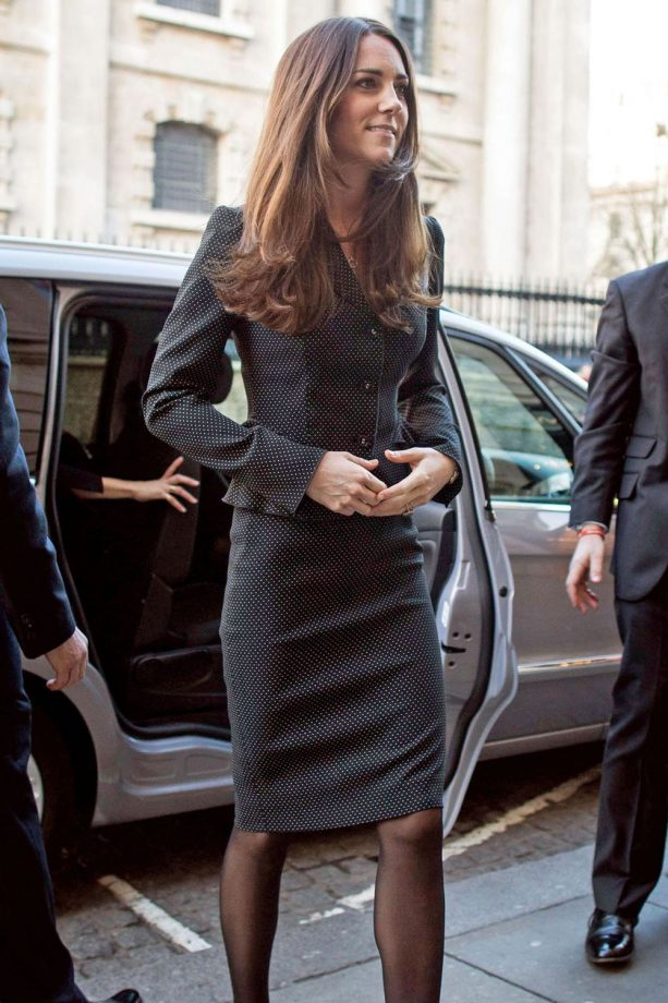 Kate Middleton out and about in London