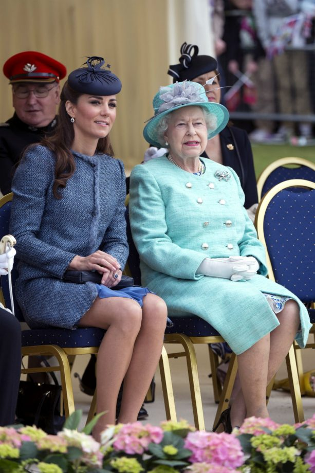Kate Middleton and the Queen host a star-studded bash