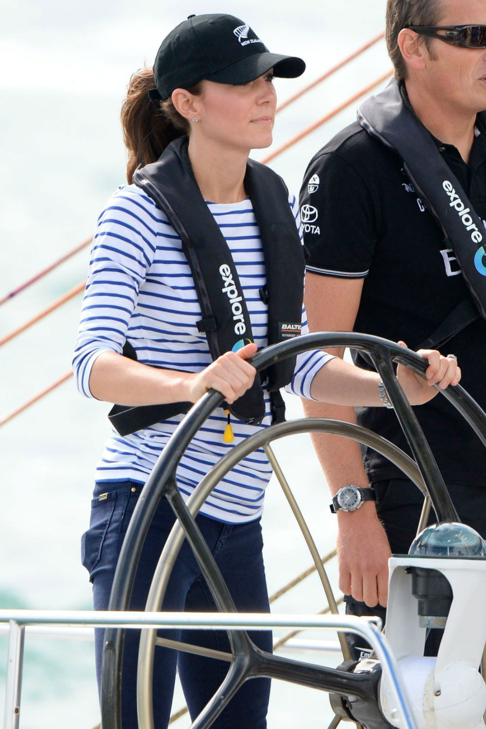 Kate Middleton Nails The Nautical Look As She Beats Will