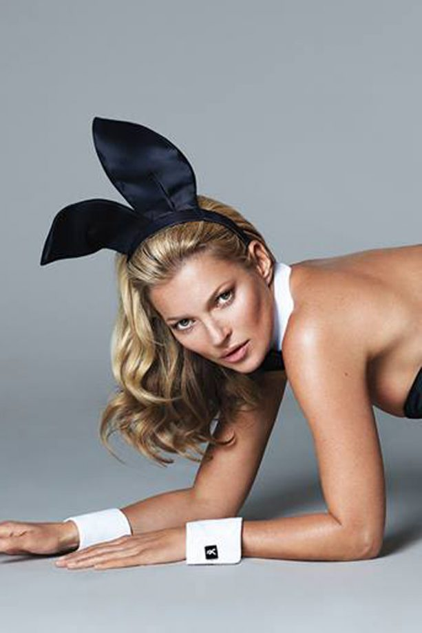 Kate Moss wows in first picture for Playboy's 60th anniversary issue