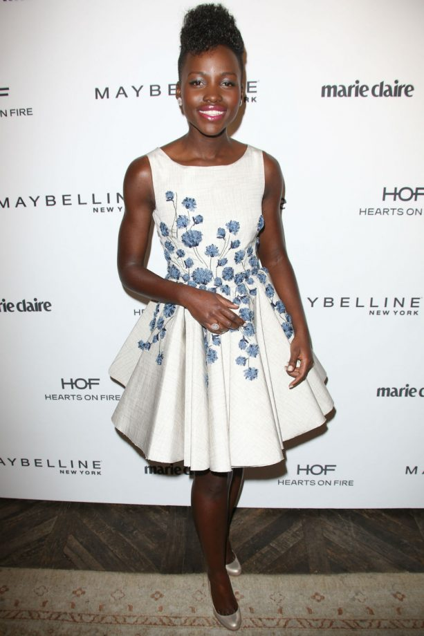 Lupita Nyong'o Marie Claire cover party