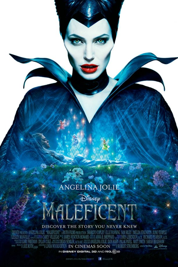 Angelina Jolie Maleficent poster