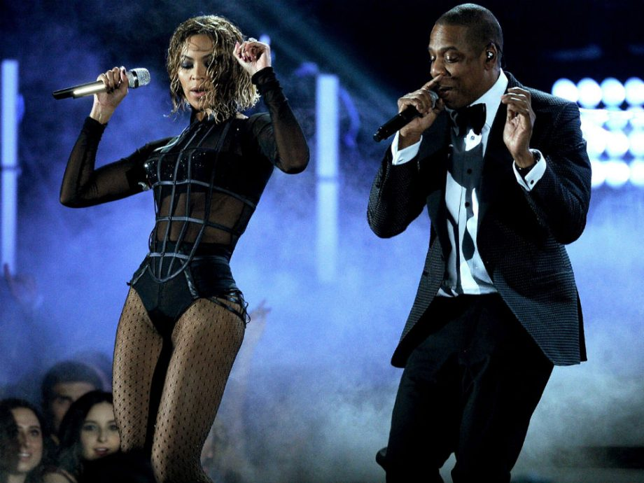 Beyoncé and Jay Z heat up the 2014 GRAMMYs