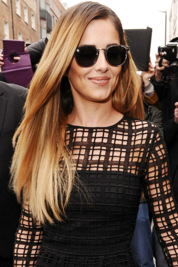 Cheryl Cole blonde hair, X Factor press conference