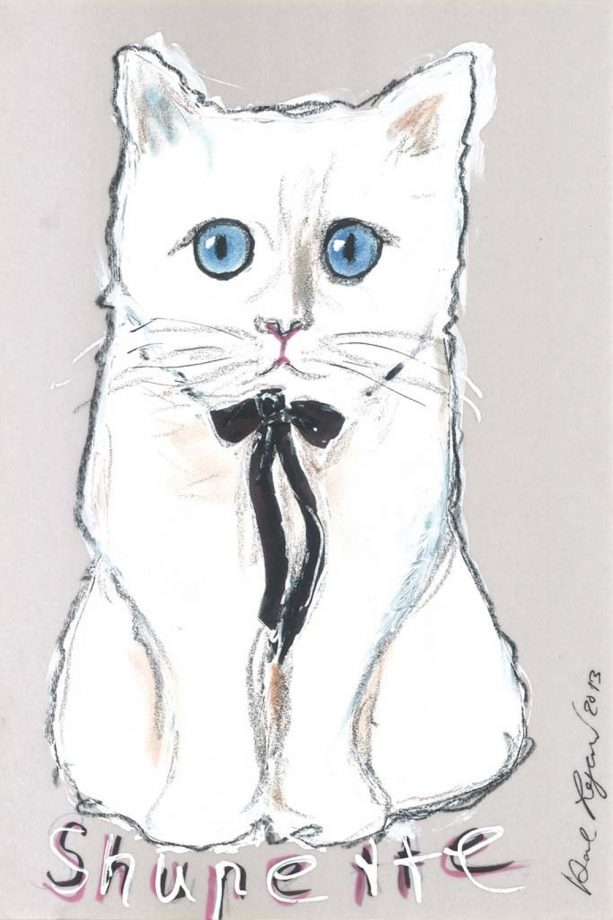 Karl Lagerfelds Cat Choupette Announces A Make Up Line With Shu