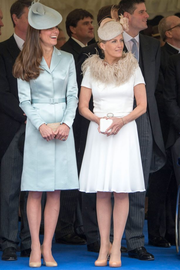 Kate Middleton at the Order of the Garter