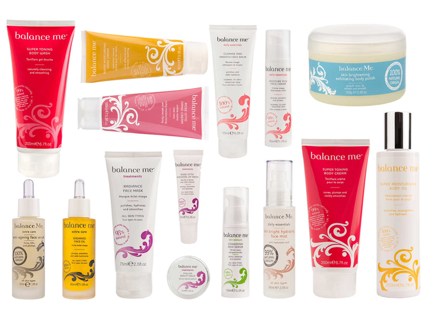 Friday Travel Treat Competition Win A Balance Me Beauty Hamper Worth 250