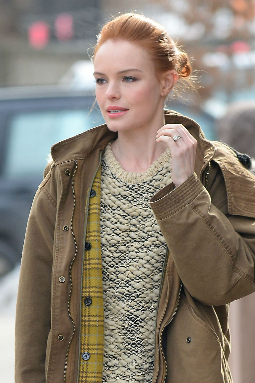 Kate Bosworth Eyes: Kate Bosworth Has Red Hair Now: See The Pics