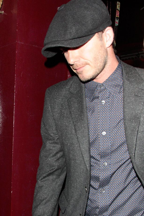 David Beckhams' night out with James Corden