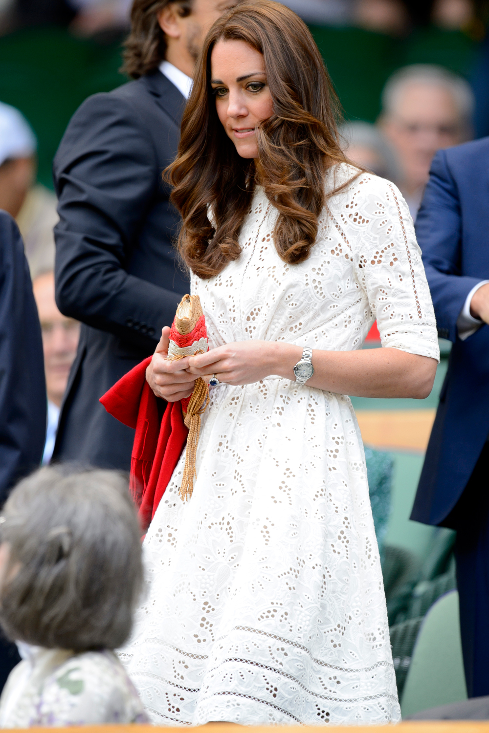 Kate Middleton And Prince William Arrive At Wimbledon 2014