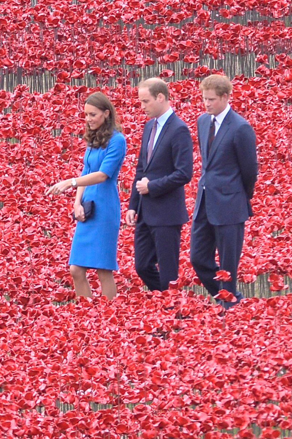 Kate Middleton Prince William And Prince Harry Visit The
