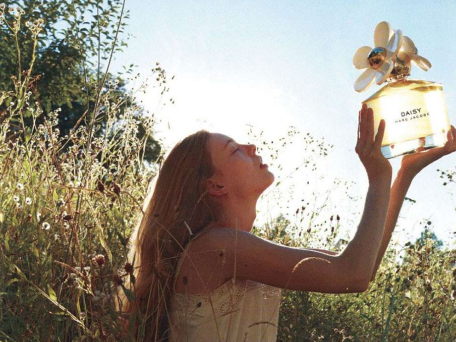Photo of the Marc Jacobs Daisy campaign