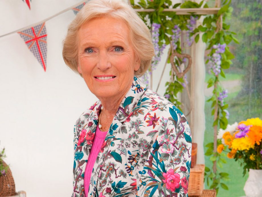 Mary Berry on the Great British Bake Off 2014