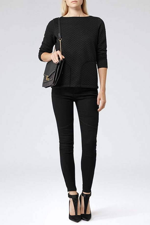 Photo of Reiss quilted jumper