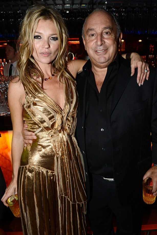 Kate Moss Sir Philip green, Topshop collaboration