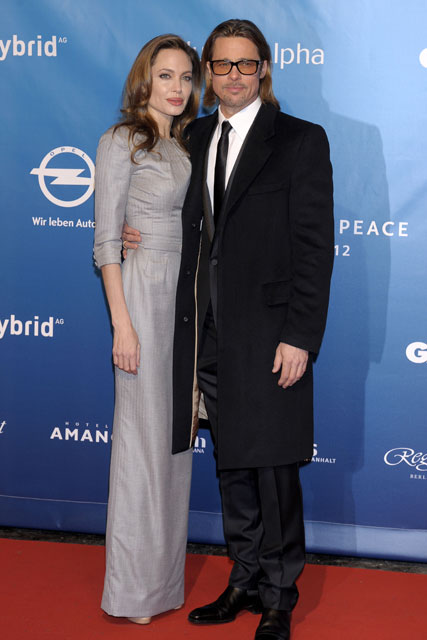 Brad Pitt and Angelina Jolie - Berlin International Film Festival - Marie Claire - Marie Claire UK